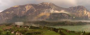 Base Jump in Trentino sul Monte Brento con Maurizio Di Palma
