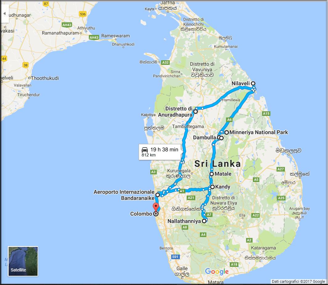 tour sri lanka (maps 1)
